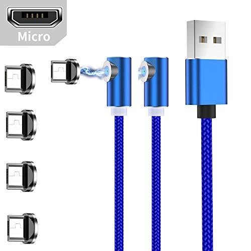 Ruibo Sike Cable de carga magnético USB en forma de L de 90