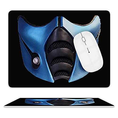 Subzero Mortal Kombat Mouse pad Animation Mouse pad Non-Slip Leather Gaming Mouse pad, Notebook Computer, Desktop Computer Mouse pad Suitable for Gaming Office Study Room (One Size)