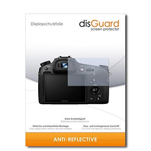 disGuard Bildschirmschutzfolie für Sony Cybershot DSC-RX10 III [2 Stück] Anti-Reflex, MATT, Entspiegelnd, Extrem Kratzfest, Anti-Fingerabdruck - Bildschirmschutz, Schutzfolie, Panzerfolie