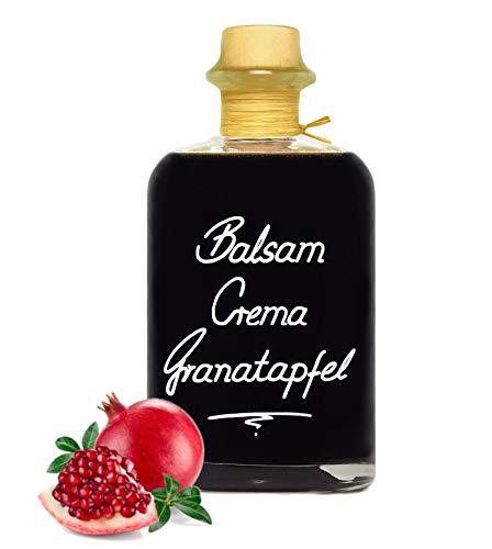 Balsamico Creme Granatapfel 0,5L 3%Säure mit original Crema di Aceto Balsamico di Modena IGP