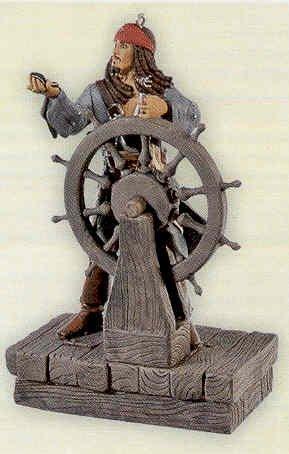 Hallmark 2008 Captain Jack Sparrow Pirates of the Caribbean