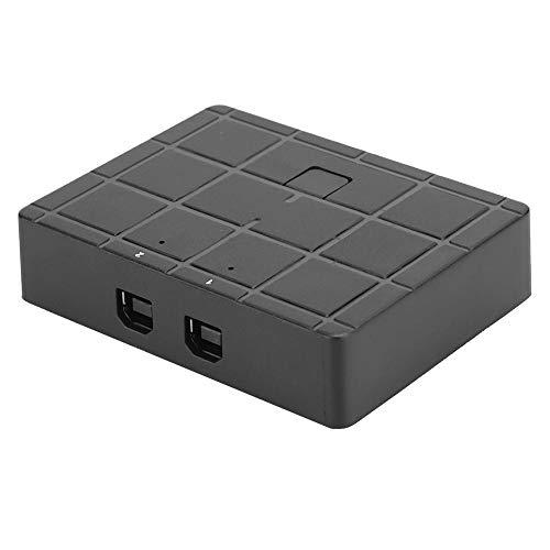Selector de conmutador para compartir, 2 puertos, selector de interruptores periféricos, adaptador de caja para impresora/escáner/mouse/teclado/disco duro móvil