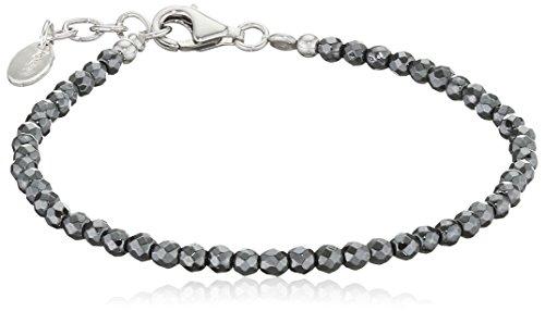 Engelsrufer Armband für Damen 925er-Sterlingsilber Hämatit Länge 18 cm + 2 cm