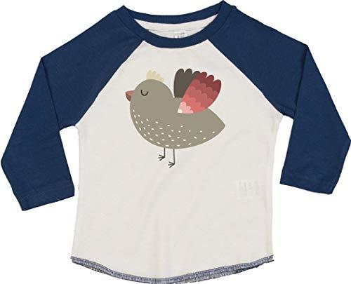 Kleckerliese T-shirt à manches longues pour enfant Motif animaux - Bleu - 18-24 mois