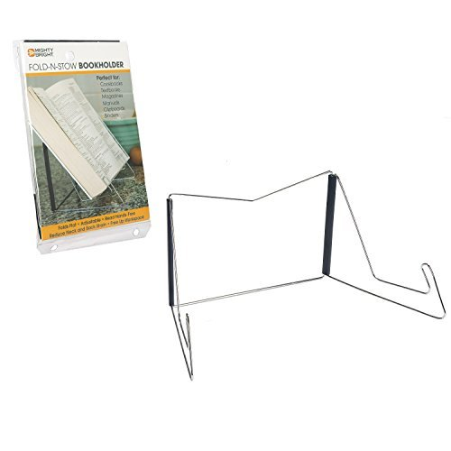 Mighty Bright 37401 Fold-n-Stow Book Holder