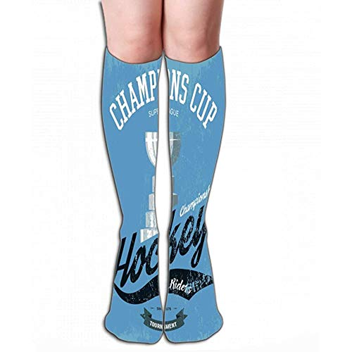High Socks hockey trofee beker print sportkleding logo kampioenschap banner Amerikaanse toernooi embleem professionele Tegel L 19.7