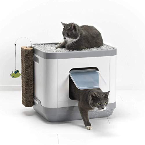 Clean N Tidy, lettiera cubica Tutto in Uno per Gatti