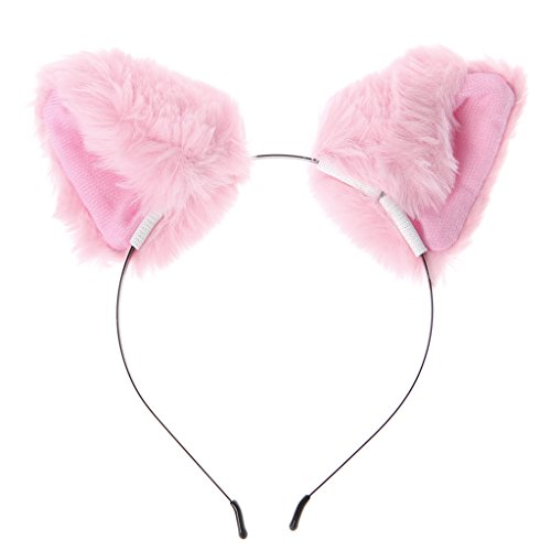 S-TROUBLE Fashion Girl Cute Cat Fox Ear Long Fur Hair Diadema Anime Cosplay Party Costume