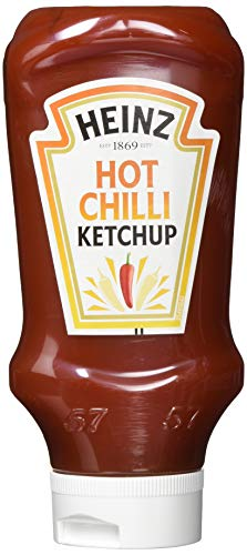 Heinz Hot Chilli Ketchup Packung mit 5 x 500 ml