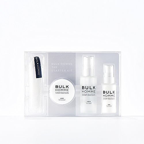 BULK HOMME THE STARTER KIT スターターキット 25g/50mL/25g