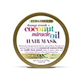 OGX Extra Strength Damage Remedy + Coconut Miracle Oil Hair Mask, Extra Hydrating & Softening...
