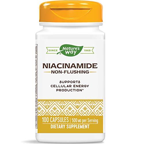 Nature's Way - Niacinamida 500 mg. - 100 Cápsulas vegetarianas