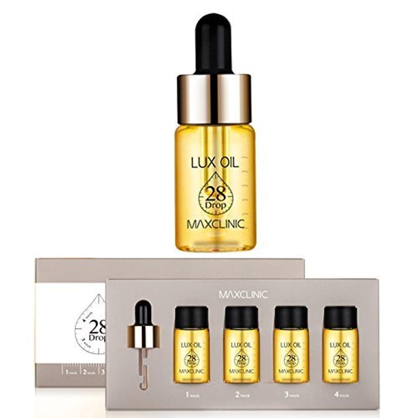 守銭奴歌詞発明するマックスクリニック[韓国コスメMaxclinic]Lux Oil 28 Drop,Luxury spa oil ampoules ラックスオイル28ドロップ、ラグジュアリースパオイルアンプル10mlX4個 [並行輸入品]