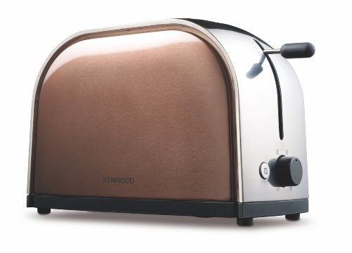 Kenwood TTM 117 Toaster / Metallics-Serie/ 900 Watt / Goldbraun