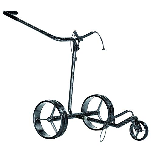 Cheap JuCad Carbon Classic Electric Trolley Cart Carbon Black