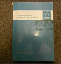 1987 1988 MERCEDES Models 107 124 126 201 Service Repair Shop Manual FACTORY OEM