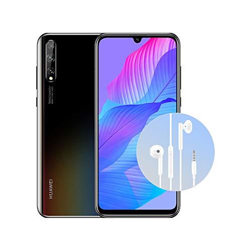 "Huawei Psmart S nero + Auricolare AM115, Oled Display da 6.3"", 4GB+128GB di memoria (Versione Italiana)"