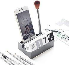 Refreshing Nordic Mobile Phone Storage Rack Creative Office Desktop Shelf Calendar Makeup Brush Holder Desk Organizer for ...