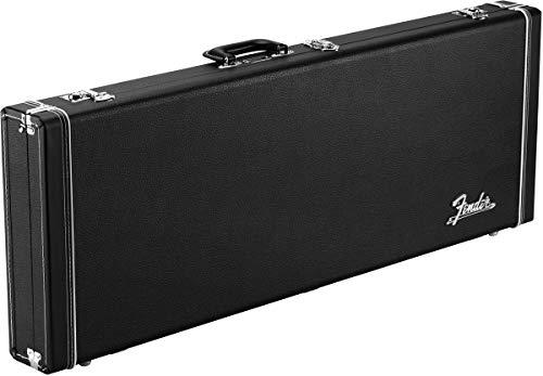 Fender® »Classic Series Wood Etui Rigide - Jazzmaster®/Jaguar®« Etui Rigide Pour Guitares Électriques - Couleur: Noir