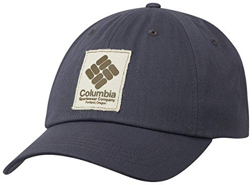 Columbia ROC II Gorra, Unisex Adulto, Gris (India Ink, Gem Patch), One...