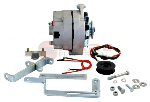Rareelectrical NEW GENERATOR ALTERNATOR CONVERSION KIT COMPATIBLE WITH FORD LATE...
