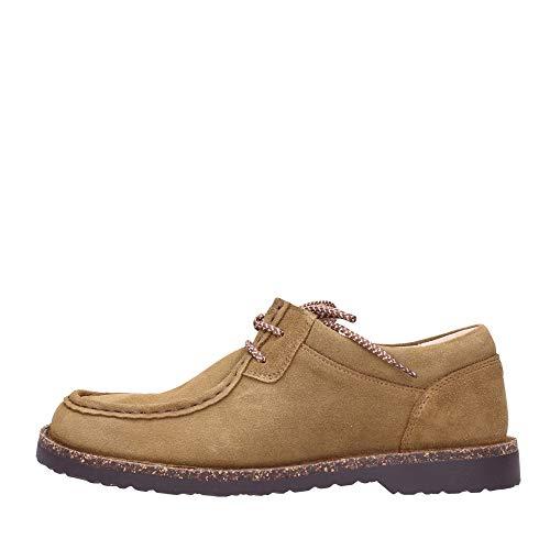 BIRKENSTOCK Shoes Boots Pasadena Tea Hydrophobic 1015018, Größe + Weite:43 normal, Farben:Tea Hydrophobic
