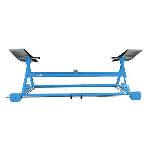 Mobile Hebebühne mechanischer mobiler Heber Blau