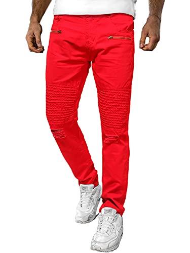 DELIMALI Hombres ' s Pantalones, Niños Color Sólido De Cintura Alta Arrancado Jeans Con Volantes Pantalones De Cultivo