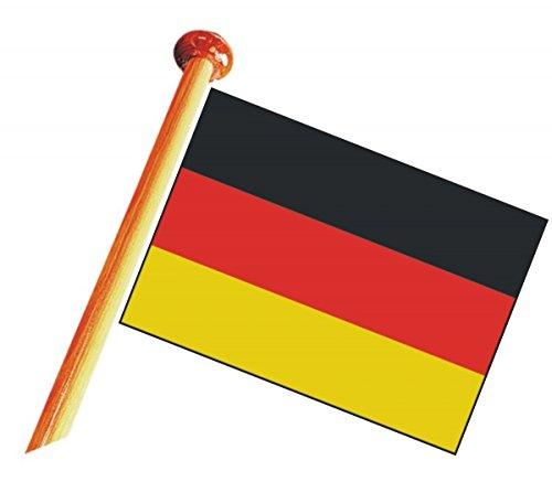 bootszubehör-online - Bandera para uso en barco, RDA, 30 x 45 cm