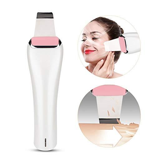 Appareil massage visage, nettoyant facial de peau de peeling de peau de peau + massage de soin de peau d'ion pour la peau avec l'acné de mitteser les rides ridules