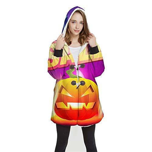 FUFU Mantas y mantitas Halloween de la camiseta de Manta, unisex con capucha 3D Impreso sudadera con capucha for hombres mujeres niños adolescentes, informal, for hacer deporte, paño grueso y suave co