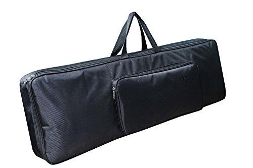 Baritone Case For Yamaha DGX-660 88-Keys Keyboard Heavy Padded Quality Full Black Bag (58X20X07)