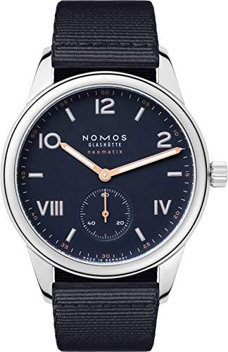 Nomos Club Campus Neomatik 39 Midnight Blue Dial automatico orologio da...