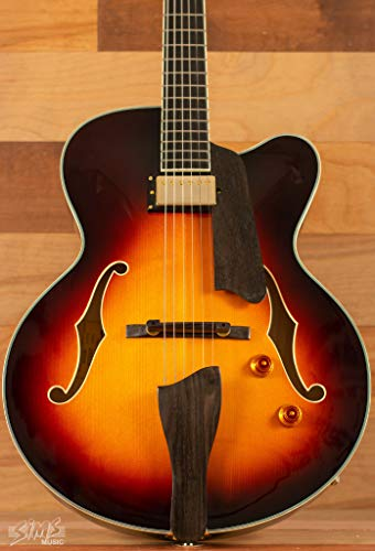 Eastman AR503CE-SB Archtop Guitar with hard case