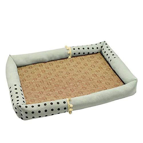 PUBSKFKN Pet Bed Printed Atmungsaktives Wasserdichtes Pad Kleine Große Mittlere...