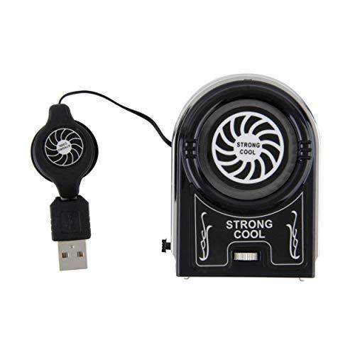 Lorenlli - Ventilador de refrigeración de aire con mini USB para ordenador portátil