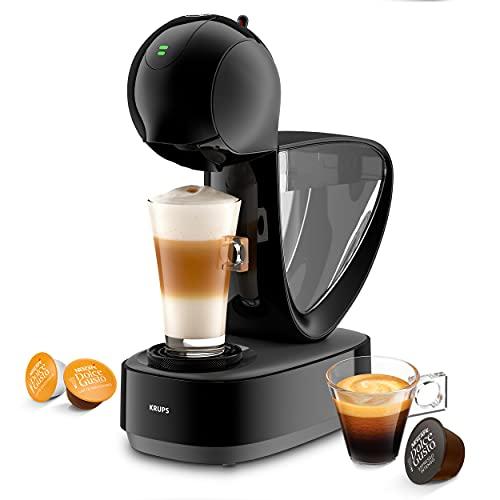 Krups KP2708 Infinissima Touch automatyczny ekspres do kawy na kapsułki | Nescafé Dolce Gusto | system wysokiego ciśnienia do 15 bar | ekran dotykowy | tryb ekologiczny po 1 minucie | czarny