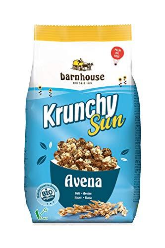 Barnhouse Krunchy Sun Muesli Cereales Avena - Ecológico, Vegetariano, Vegano - 375 G