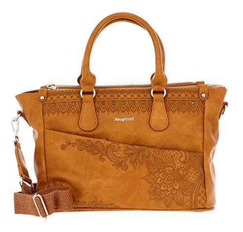 Desigual Womens Accessories PU HAND BAG, YELLOW, U