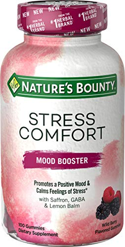Nature's Bounty Nature's bounty Stress Comfort Mood Booster 100 Gummies, 100 Count