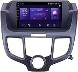 LYHY Android 10 MP5 Player Reproductor Multimedia para automóvil GPS Compatible con Honda Odyssey 2003-2008, Soporte WiFi 4G DSP/FM RDS Stereo Car Radio/BT Llamadas Manos Libres/Control de Volante /