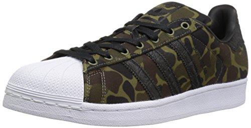 Adidas Originals Superstar - Zapatillas Deportivas para niño, Color Negro, Talla 40 2/3 EU