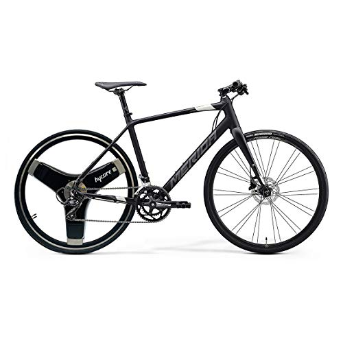 Hycore T1 Merida - Bicicleta eléctrica (27,5 pulgadas, ligera, doble motor)