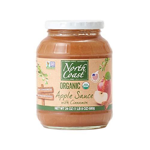 オーガニック アップルソース シナモン (有機 化学調味料無添加 砂糖不使用 100%天然 ノースコースト)