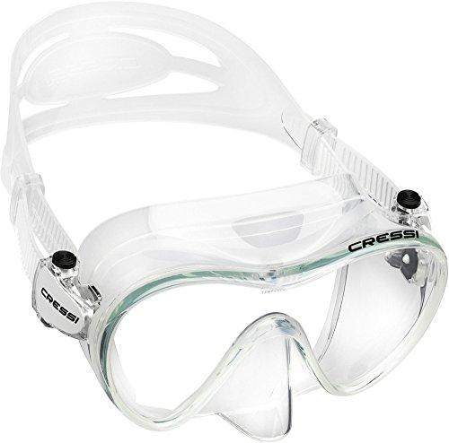 Cressi Tauchmaske Erwachsen F1 Clear Frameless Gafas