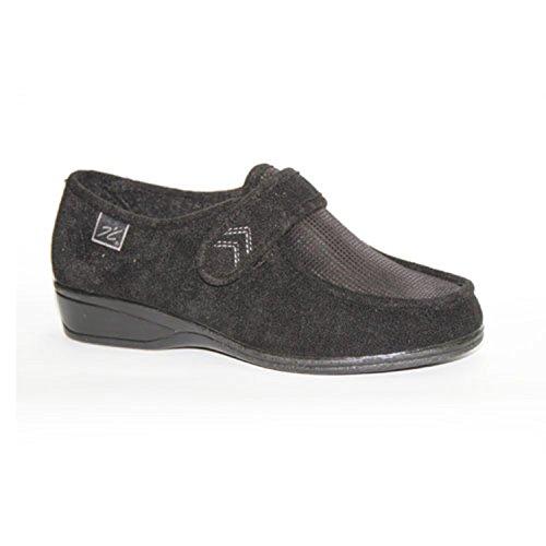 Zapatillas Velcro pies Muy delicados Doctor Cutillas en Negro Talla 39