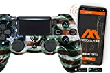 PS4 PRO Rapid Fire Custom MODDED Controller Exclusive Unique Designs - CUH-ZCT2U… (Multiple Designs Available) (American Flag)
