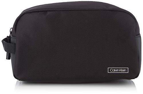 Calvin Klein Herren Revealed Washbag Schultertasche, Schwarz (Black), 0.1x0.1x0.1 centimeters