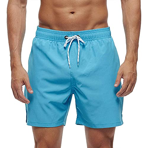Pantalones Cortos De Playa para Hombre De Moda Bañador para Hombre Shorts De Baño para Hombre con Bolsillos con Cremalle