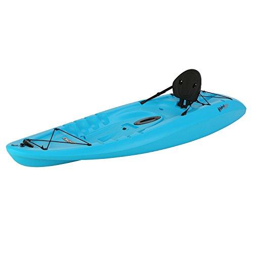 Recreational Kayak Sit On Top Kayaks For Kids Fishing Glacier Blue 8 Foot...